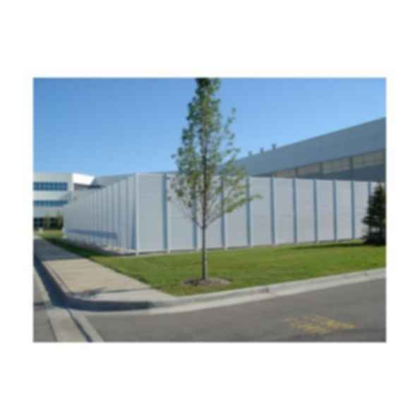 Galvanized Steel Louver Fence