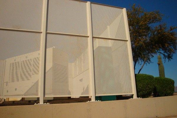 Aluminum Perforated Fence Modlar Com