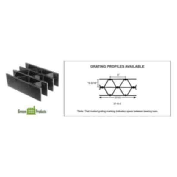 Heavy Duty Steel Riveted Grating - R Series