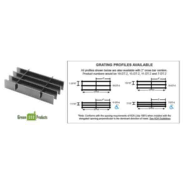 Light Duty Carbon Steel Grating - DT Series