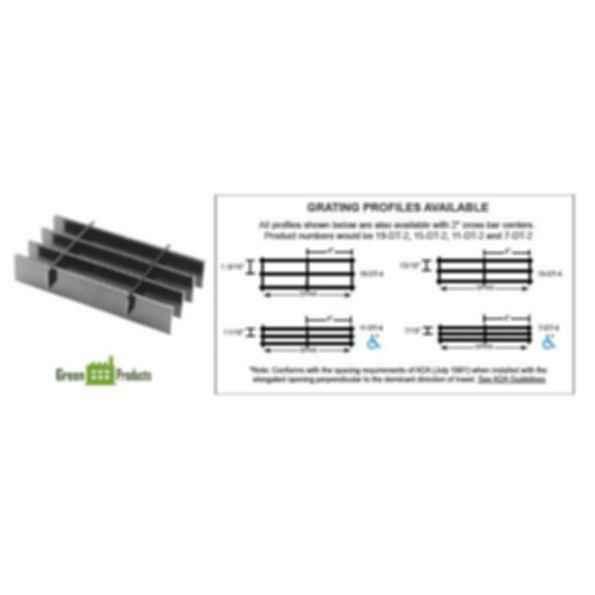 Light Duty Carbon Steel Grating - DT Series