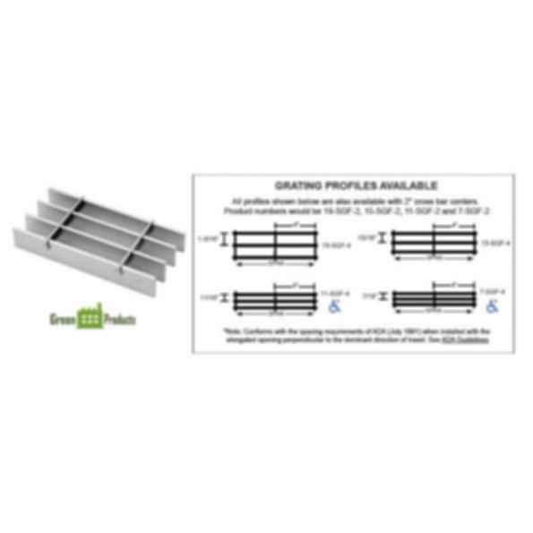 Aluminum FlushTop Grating - SGF Series
