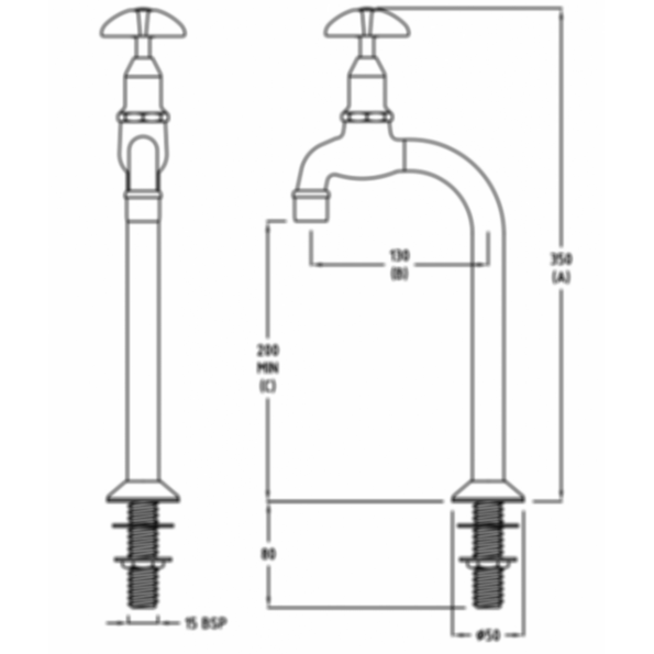 CP Lab Set 1-Way Type 5 Fixed Jumper Valve by Galvin Engineering