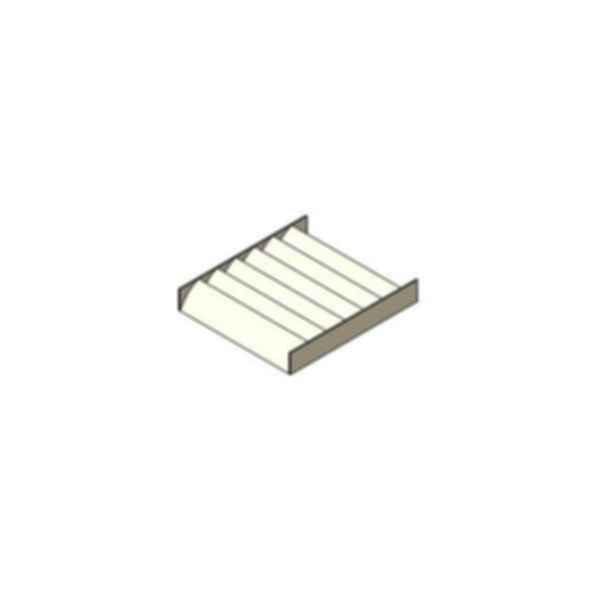 Aluminum Airfoil Blade Sunshade - SSAFH8