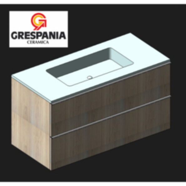 Grespania Aster - Basin furniture