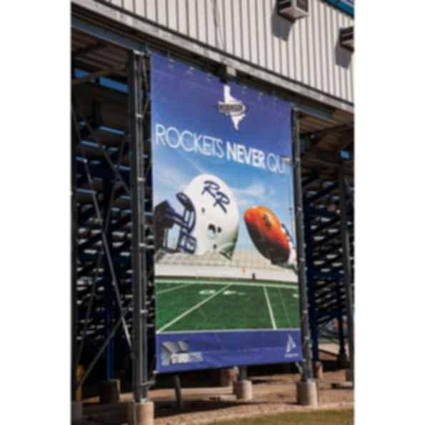 STURDIWRAP Stadium Banner Systems