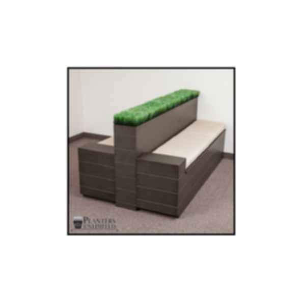Madera Fiberglass Bench with Storage Option