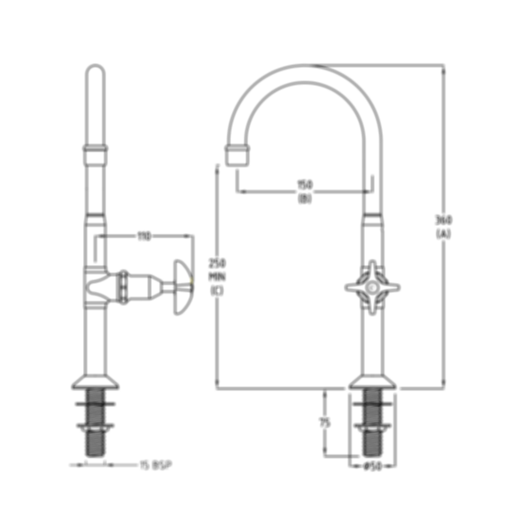 CP Lab Set 1-Way FixedJumper Valve by Galvin Engineering