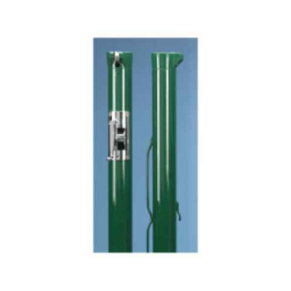 Premier XS Green with Stainless Steel Gears Tennis Posts