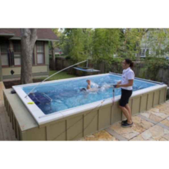 Endless Pool Elite Model Swimming Machine