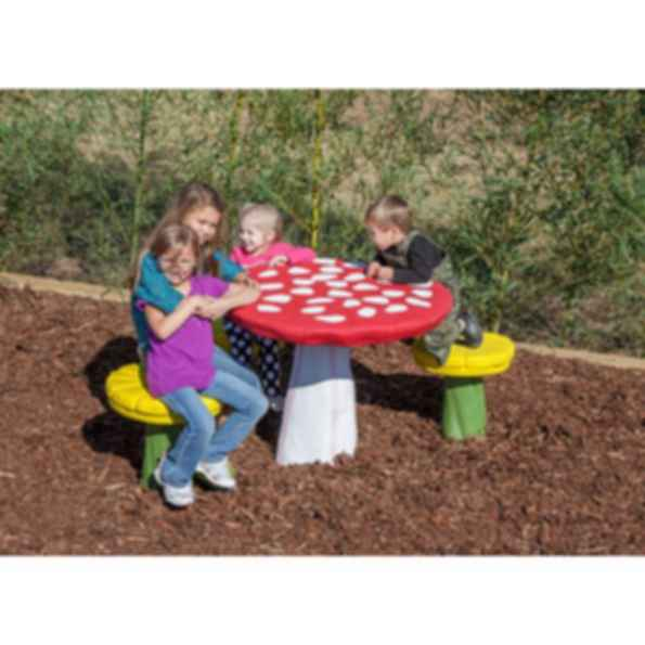 Large Mushroom PlayTrails Play Equipments