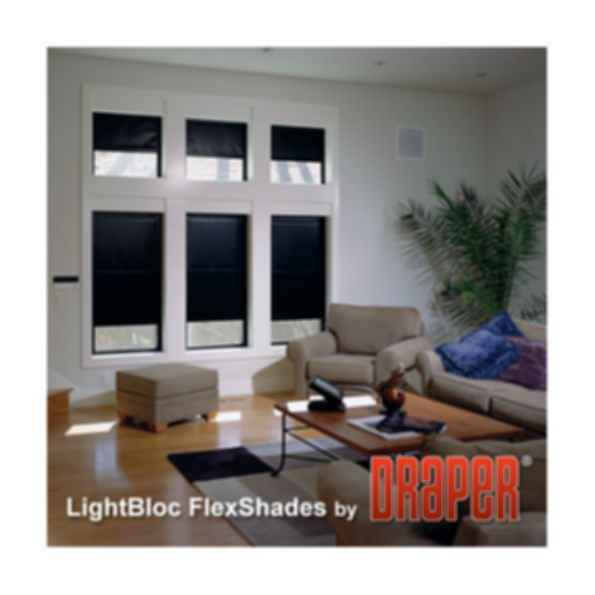 LightBloc Motorized FlexShade Shade