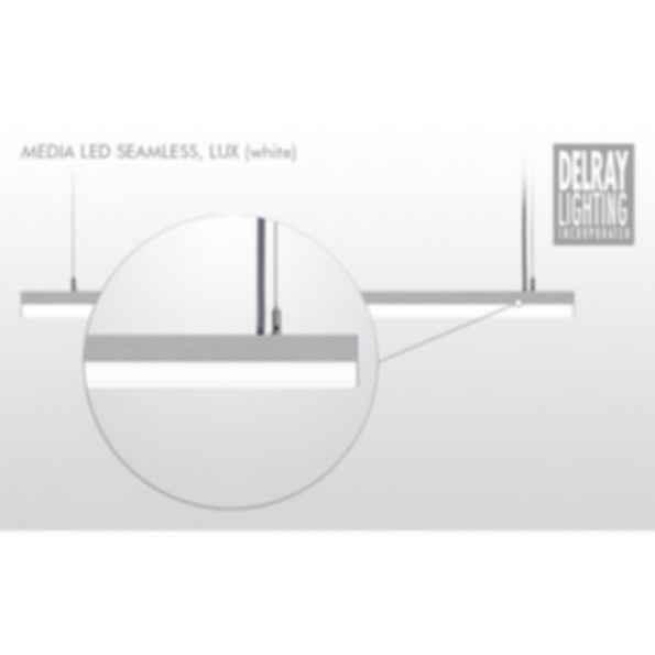 Media LED Seamless, Lux by Delray Lighting