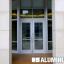 CRL-U.S. Aluminum Series 250, 400, & 550 Entrance Doors