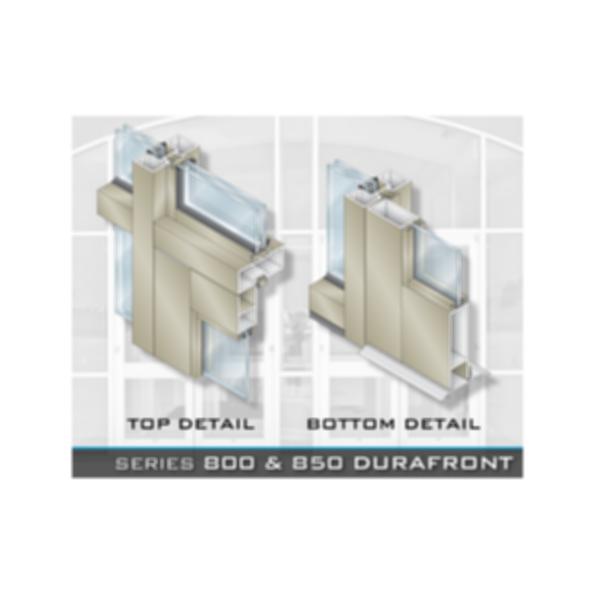 CRL-U.S. Aluminum Series 800 & 850 Durafront Doors