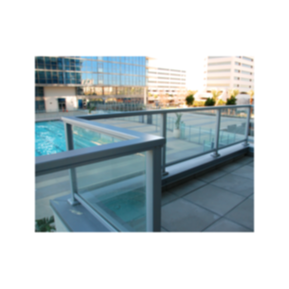 CRL Aluminum Railing Systems With Glass