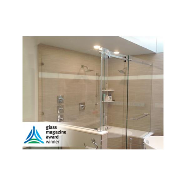 CRL Deluxe Serenity Series Sliding Shower Door System - modlar com
