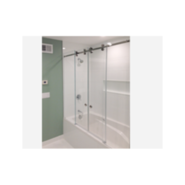 CRL Deluxe Serenity Series Sliding Shower Door System