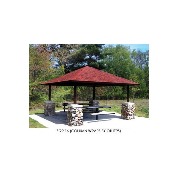 Square Four Sided Hip Roof - modlar com