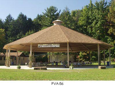 Twelve Sided Hip Roof Pavilion - modlar com