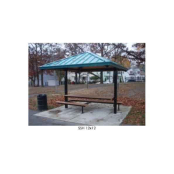 Hip Roof Square Sun Shelter