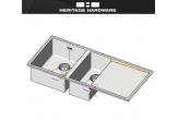 Heritage Hardware Foraze Sinks - Revit