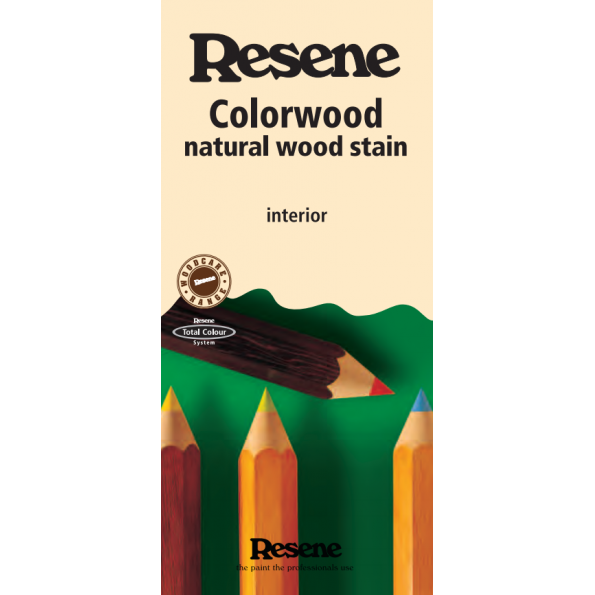 Colorwood interior wood stains range
