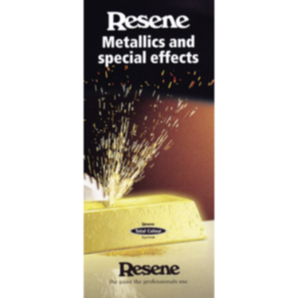 Metallics and special effects range